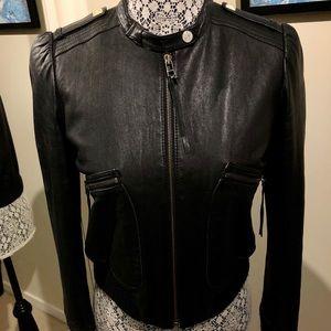 Jackets & Blazers - 40% off price Agona Leather Black Gorgeous Jacket
